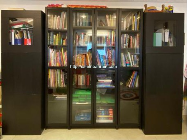 Book Shelves IKEA 9 Pieces With Doors